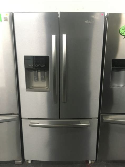 "Whirlpool Stainless Steel 36"" French Door Refrigerator"
