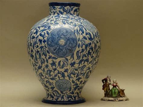 antico vaso antico vaso ceramica maiolica cantagalli 1800 s albissola