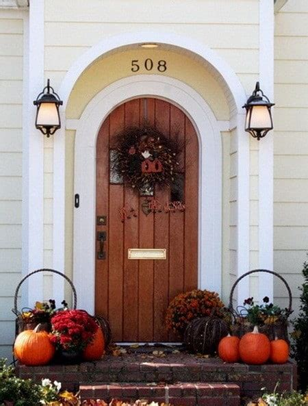 Ideas For Fall Front Porch by 33 Front Porch Decorating Ideas For Fall