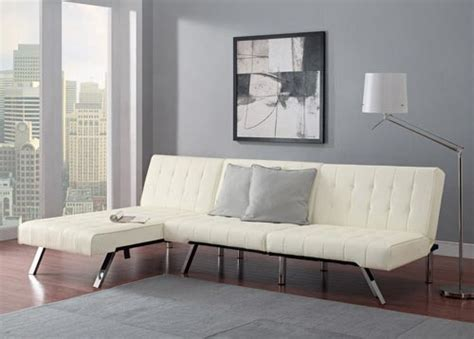 emily convertible futon emily convertible futon with chaise lounger set