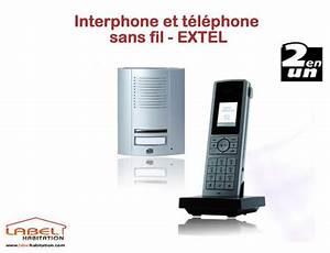 Interphone Sans Fil Legrand : interphone extel sans fil ~ Edinachiropracticcenter.com Idées de Décoration