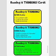 Reading Is Thinking! Free Download! — Teacher Karma