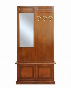 vestiaire d39entree en bois meuble d39entree porte manteau With porte manteau meuble d entree