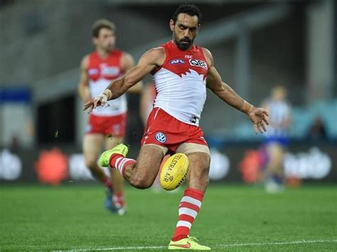 Adam goodes has taken a veiled swipe at scott morrison and the australian government as he opened up on how racism ended his afl career. The last to boo Adam Goodes: why I'm glad my team lost their Grand Final   NITV