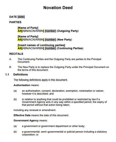 Catering Contract Template Word