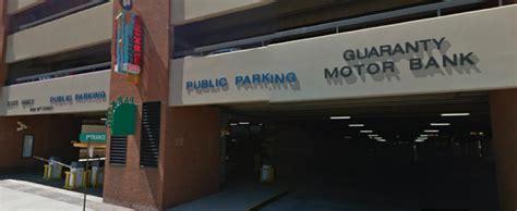 guaranty motor bank garage    st denver parking