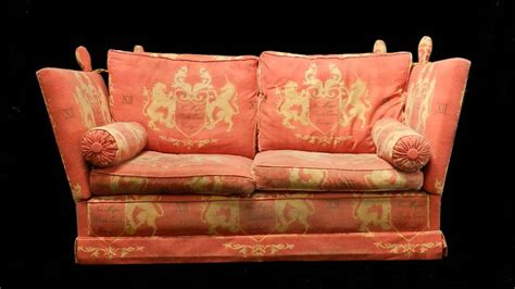 knowle settee vintage knowle sofa 2 seater to clean restore or recover