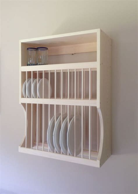 large  small plate rack  shelf  nicoletwoodproducts  etsy httpswwwetsycom