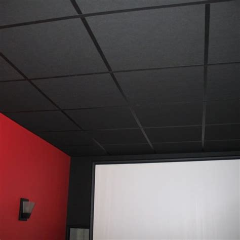 1 quot black acoustic drop ceiling tiles 2 x2 lot of 20 copy