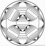 Coloring Kaleidoscope Printable Ziggurat Simple Pdf Coloringpages101 Xyzcoloring Template sketch template