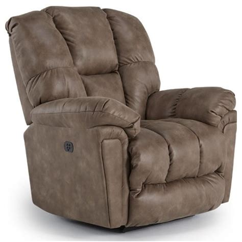 Space Saver Recliner by Best Home Furnishings Lucas Casual Power Space Saver