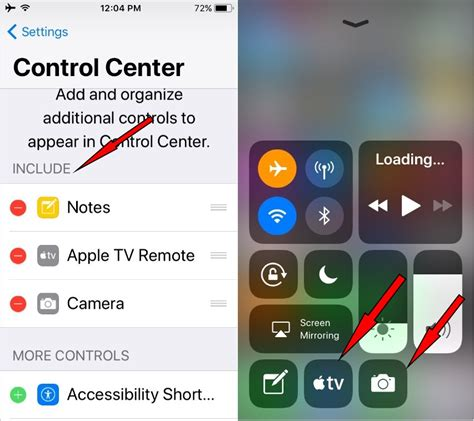 tv remote app for iphone how to customize center on iphone x 8 plus