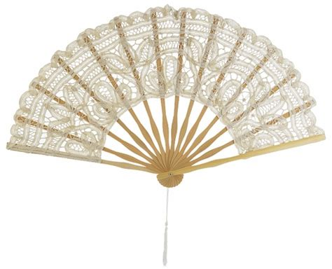 how to make a hand fan 11 quot beige ivory chinese folding lace hand fan for