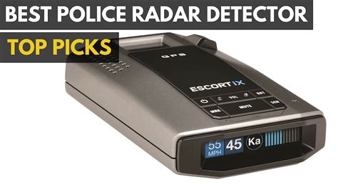 police radar detector