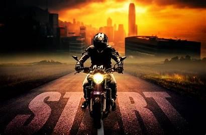 Motorcycle Biker Bike Photoshop Background Motorcyclist