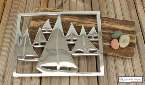 nautical yachtsboats trivet coastal hot plate stand