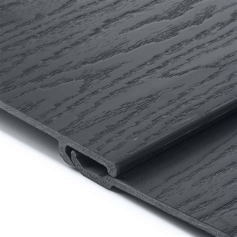long coastline composite shiplap cladding boards anthracite grey  pvc