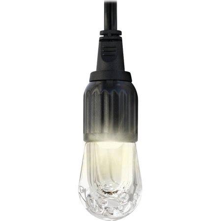 led cafe lights enbrighten led cafe string lights 9 bulbs 18ft 33307
