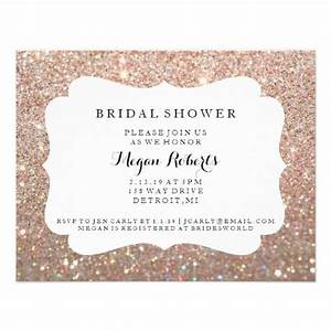 invite bridal shower day fab rose gold 2 card with With rose gold wedding invitations online