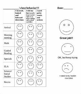 example preschool behavior charts edgrafik With behavior charts for preschoolers template