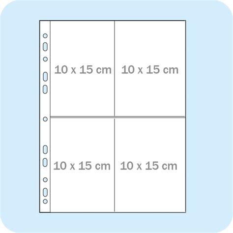 Ablagehüllen Din A4, Für 8 Postkarten 10 X 15 Cm Im