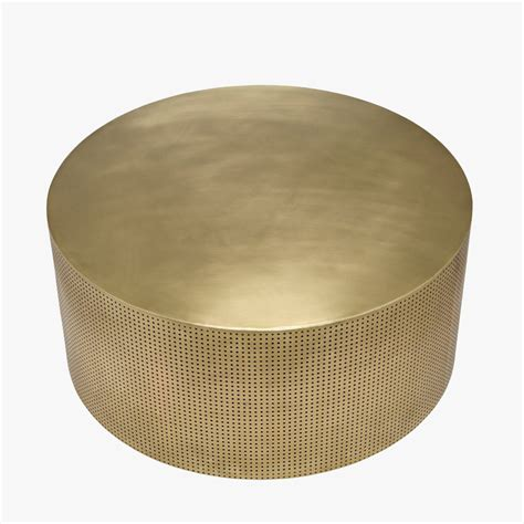 There are 345 coffee noir for sale on etsy, and they cost $17.00 on average. Dixon Antique Brass Coffee Table - Shop Noir Furniture | Brass coffee table, Coffee table, Drum ...
