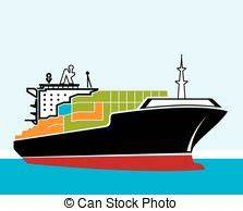 Cargo ship Vector Clipart EPS Images. 20,123 Cargo ship ...