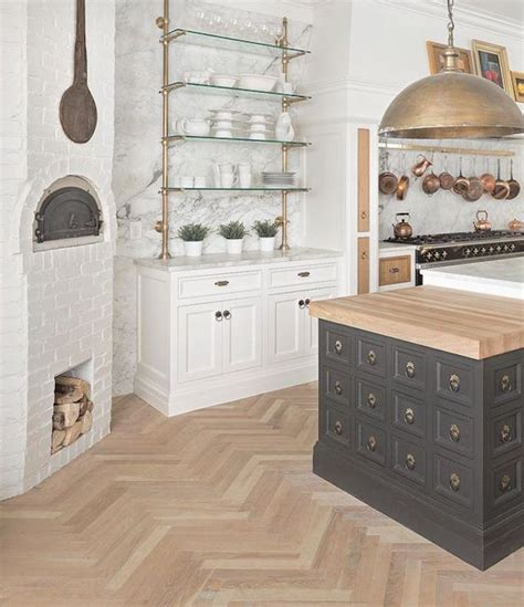 kitchen trend french bistro shelvingbecki owens