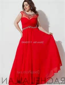 Plus Size Red Prom Dresses 2017