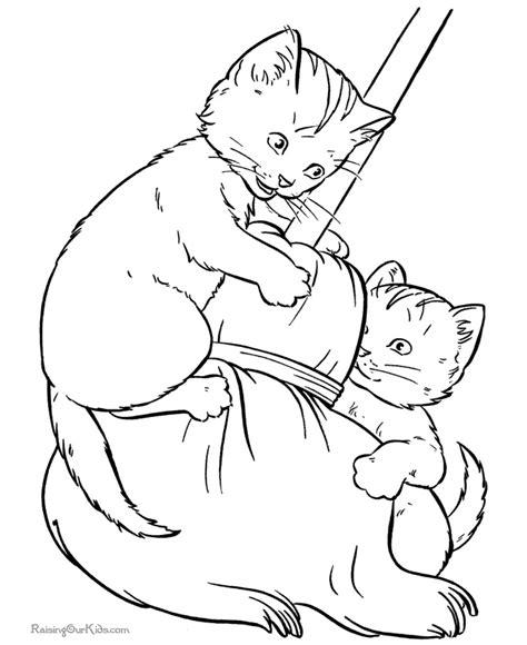 disegni da colorare gattini e cagnolini disegni di gatti da colorare e stare gratis gattini