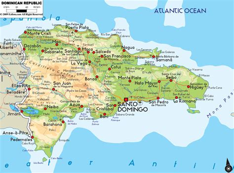 map  dominican republic destination punta cana