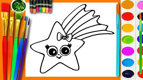 draw and color learn to draw and coloring for and paint a