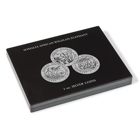 Monētu kastītes sudraba vienas unces monētām VOLTERRA ...