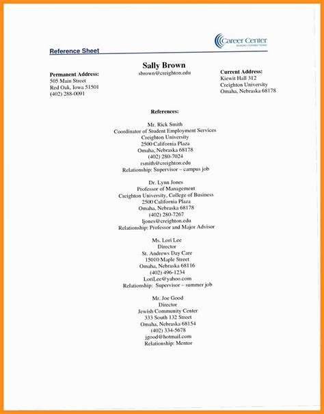 What Is Reference In Resume by 12 13 Sle Reference Pages For Resume