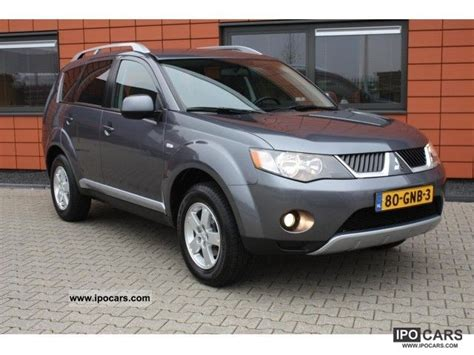 nissan outlander 2008 2008 mitsubishi outlander 2 4 intro edition car photo