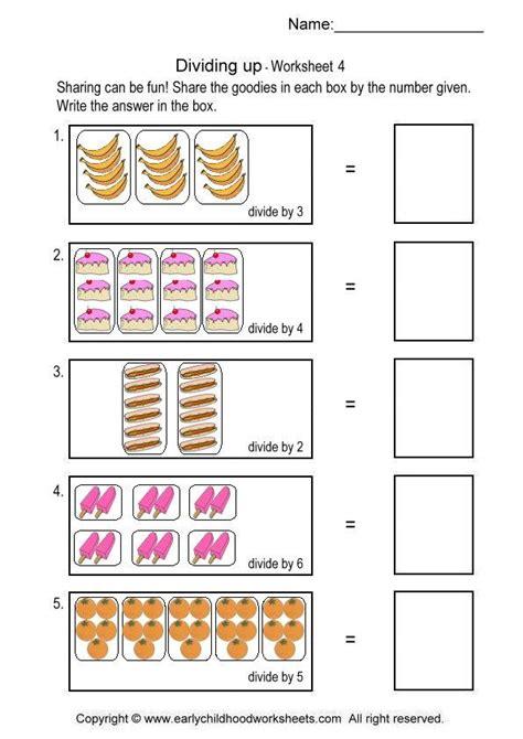 bureau simple division worksheets simple division worksheets 4 math
