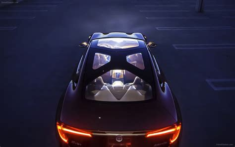 Fisker Atlantic Concept 2018 Widescreen Exotic Car Image