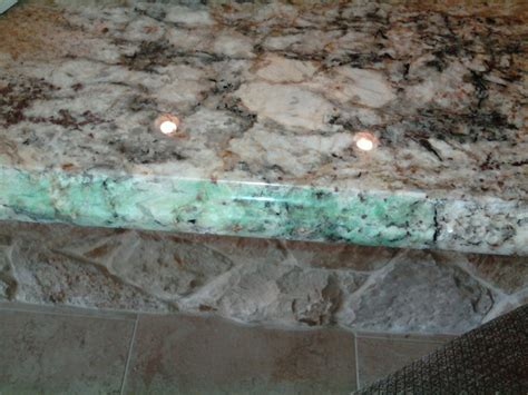 blue green stain on granite counter top other metro by