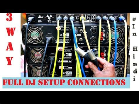 Dbx Crossover Wiring Diagram by How To Setup Active Crossover Dbx 223xl Into Your Pa Sy