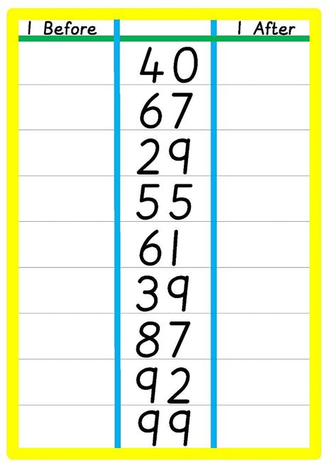 numbers   getsmartkids