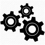 Gears Icon Gear Transparent Icons Three Vector
