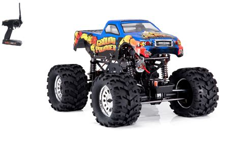 remote control monster trucks videos electric remote control ground redcat pounder 1 10 scale r