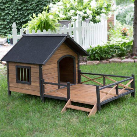 boomer george lodge dog house  porch large walmartcom