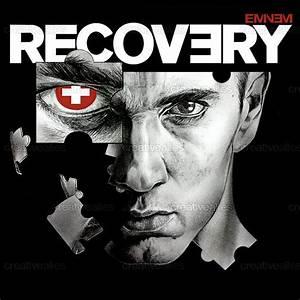 Eminem Album Cover by Rubina Khosseyn