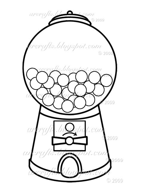 gumball machine template gumball machine coloring page picture i m going to use this to make a shaker card d