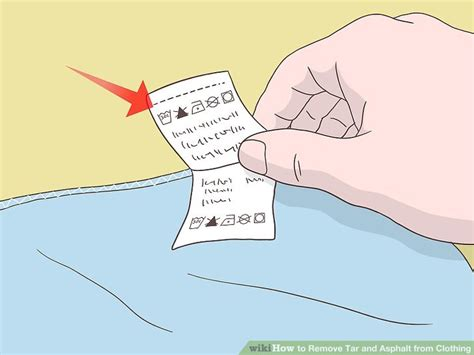 how to get tar out of clothes 4 ways to remove tar and asphalt from clothing wikihow