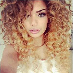 caramel ombre curly hair   Nail designs   Pinterest
