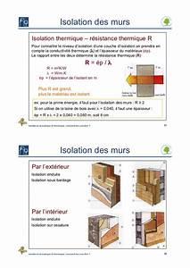 Resistance Thermique Isolant : isolations acoustique et thermique comment les concilier ~ Melissatoandfro.com Idées de Décoration