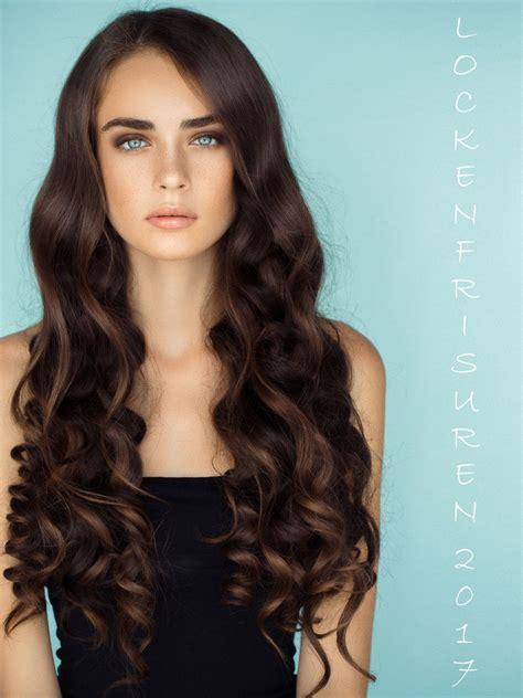 lockenfrisuren die schoensten  frisur lange haare