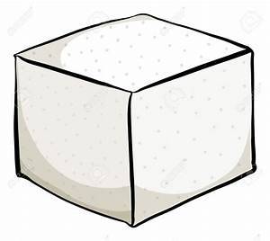 Tofu clipart sugar cube - Pencil and in color tofu clipart ...